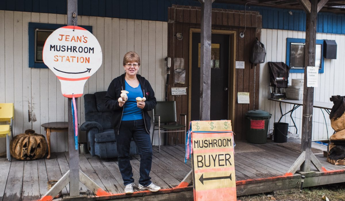 Nakusp's Jean Hewat is a champion for champignons
